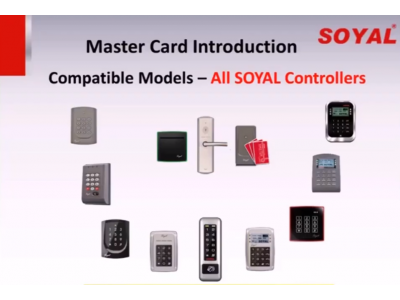 Master Card για εύκολη προσθήκη χρηστών