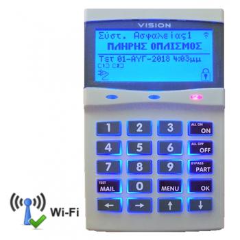 CP-741 Πληκτρολόγιο Γραφικών (με ενσωματωμένο Wi-Fi)
